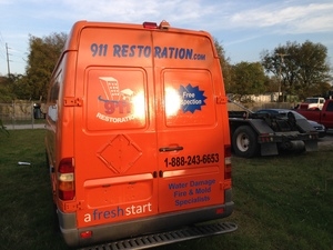 Fire Damage Restoration Reno Truck